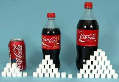 Aproximado de azúcar por alimento