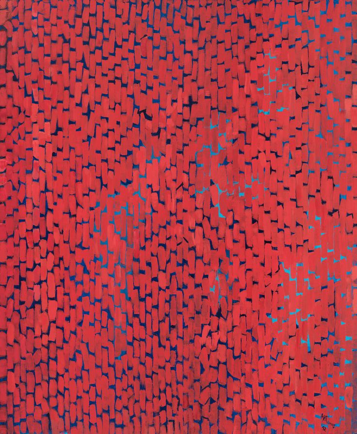 Alma Thomas (1891–1978), Mars Dust, 1972. Acrylic on canvas, 69 1/4 × 57 1/8 in. (175.9 × 145.1 cm). Whitney Museum of American Art, New York; purchase, with funds from The Hament Corporation 72.58