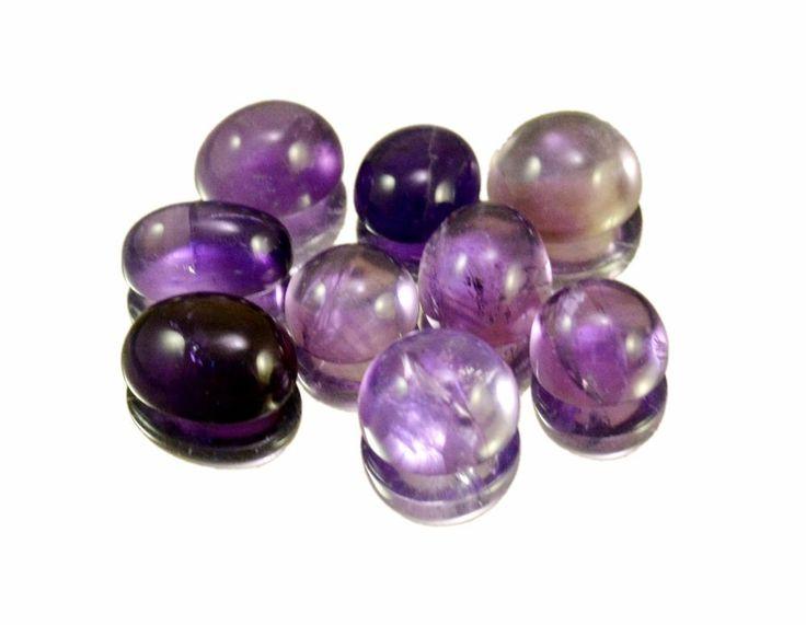 28ct / 9pcs VS Natural Purple Amethyst Quartz Loose Gemstone Wholesale Lot #krishnagemsnjewels #Loose #Quartz  #Amethyst From India
