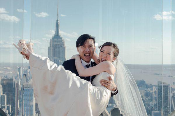 New York City Destination Wedding Photography by Artvesta Studio - Full Post: http://www.brideswithoutborders.com/inspiration/new-york-city-photo-shoot-by-artvesta-studio
