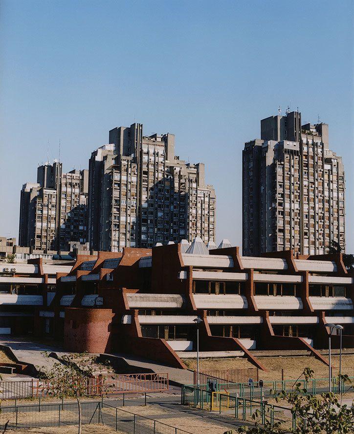 Photographer Lola Paprocka presents a love letter to Belgrade's Brutalist estates.