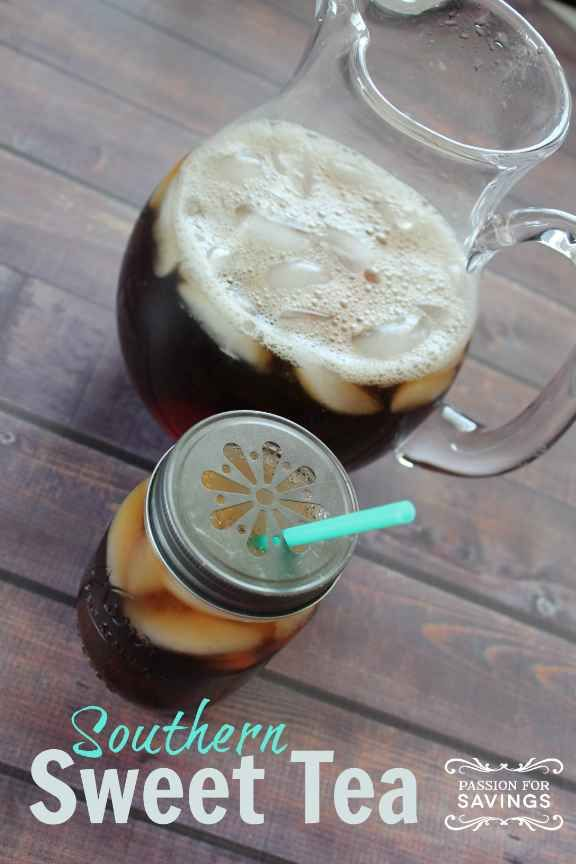 Yummy! So sweet and delicious -- used 6 tea bags instead of 4, but everything else the same. Southern Sweet Tea Recipe | McAlister's Deli Copy Cat.