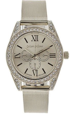 #Women Watch Brands, best watches for women, Ladies Watches http://www.thesterlingsilver.com/product/cluse-minuit-rose-gold-whiteyellow-stripes-cl30032/