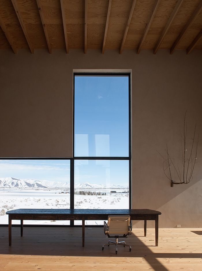 Windows at The Outpost, Idaho by  Olson Kundig