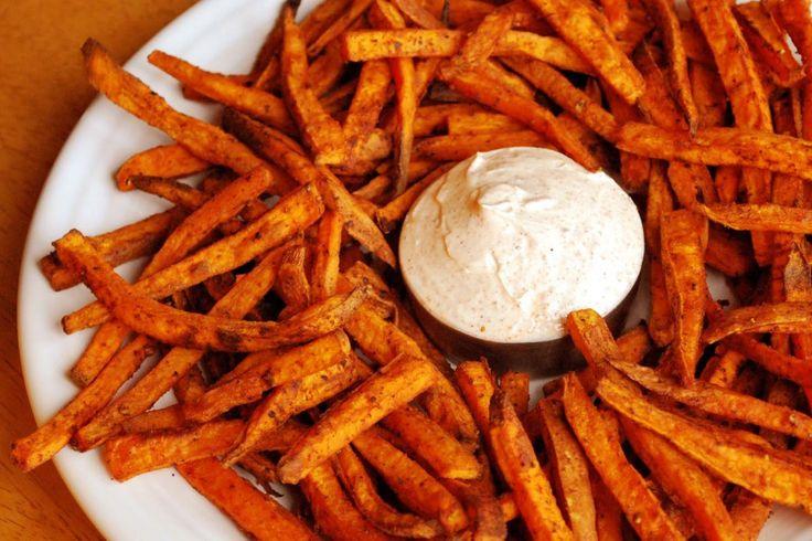 Boniato chips saludables, sin freír