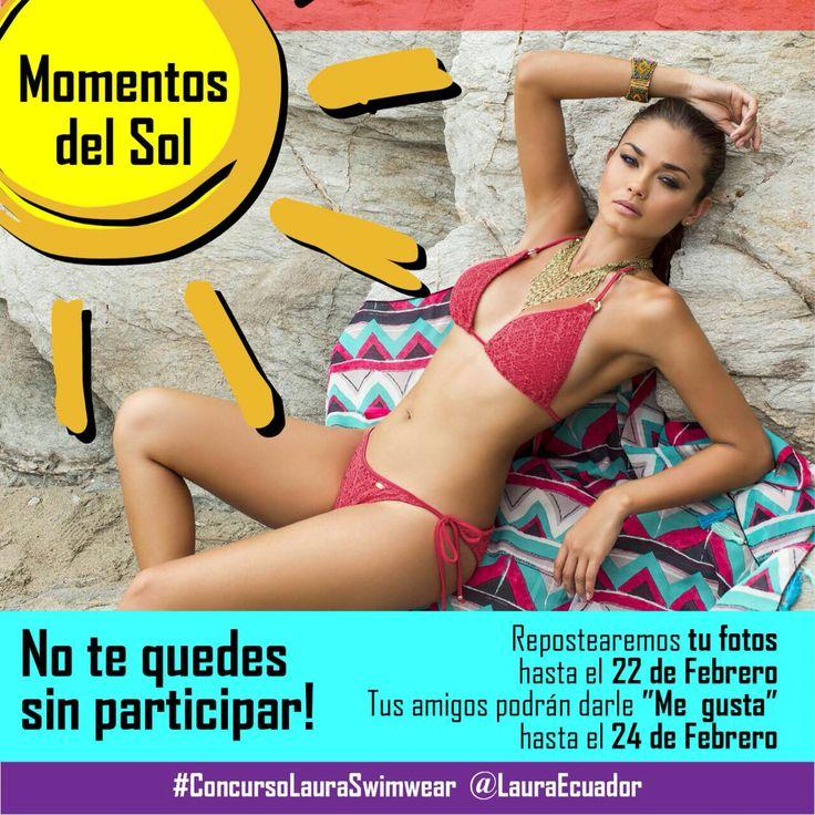 No te quedes sin participar  #ConcursoLauraSwimwear  #Instagram @LauraEcuador