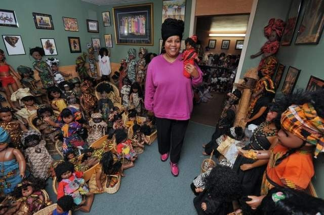 """Brenda Moseley, who died in early fall, collected more than 3,000 dolls reflecting African-American heritage. Her family is now seeking a place to exhibit them, including discusses with the Delaware Historical Society."""