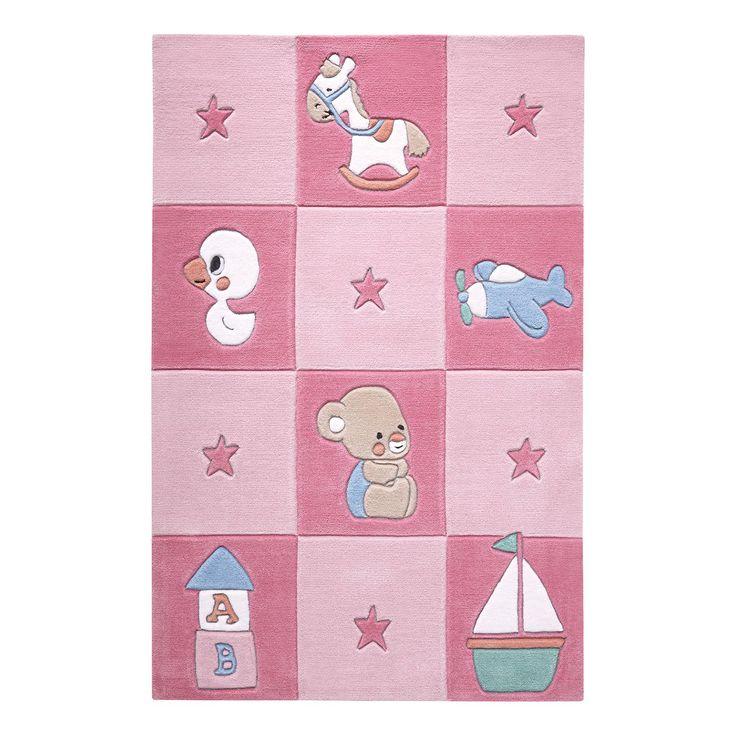 Babyteppich Newborn - Pink - 130 x 190 cm, SMART KIDS Jetzt bestellen unter: https://moebel.ladendirekt.de/heimtextilien/teppiche/sonstige-teppiche/?uid=ea572458-ef9b-504b-848d-f5da626f1e38&utm_source=pinterest&utm_medium=pin&utm_campaign=boards #möbel #heimtextilien #babyzimmer #teens #sonstigeteppiche #smart #teppiche #kids