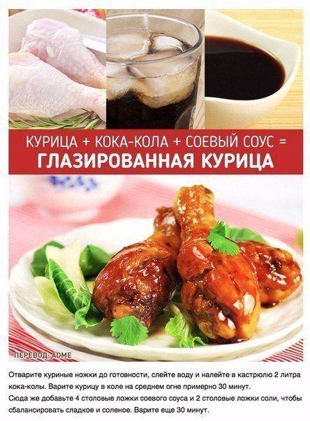 Из 3-х ингредиентов. Глазированная курица