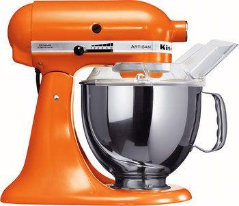 Le robot multifonction KitchenAid Artisan tangerine (5KSM150PSETG) au meilleur prix sur idealo.fr