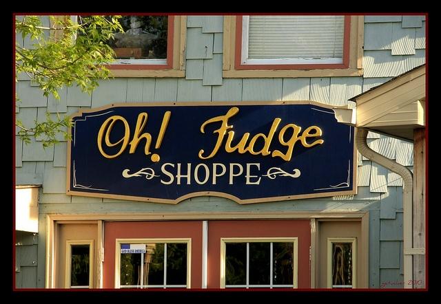 Oh! Fudge. Lexington, Michigan.