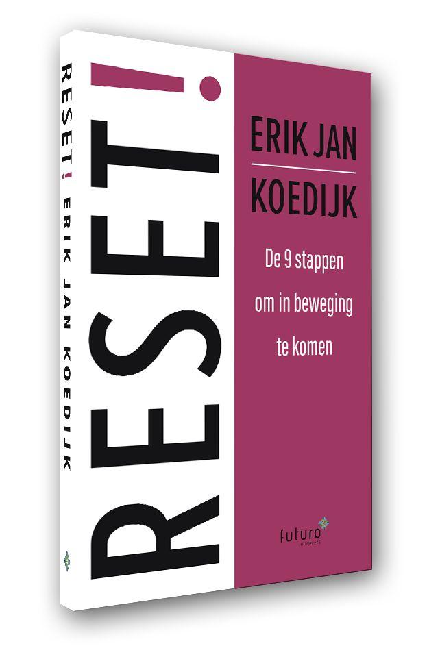 """Mooie recensie-artikel over het boek 'RESET!' van Erik Jan Koedijk bij Frankwatching: """"Reset je organisatie. En reset jezelf. Sta eens stil bij de patronen waar jij en je organisatie in verzeild zijn geraakt en kijk kritisch hoe het anders kan. Wendbaarder, socialer, vitaler en meer verbindend. Maar dat is makkelijker gezegd dan gedaan. Hoe doe je dat? 'Reset!' vertelt je in 9 hoofdstukken hoe je dat doet.' #reset #erikjankoedijk #frankwatching #futurouitgevers"""