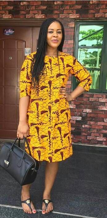 Midi décontracté africain impression vrac Dress   Midi robes, robes imprimés…