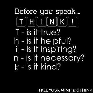 T-H-I-N-K