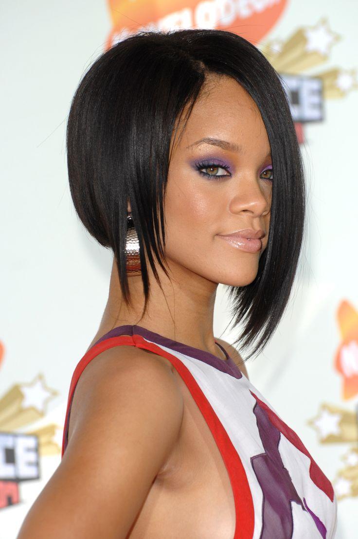 Rihanna es una de las estrellas que luce el corte 'bob' con frecuencia.