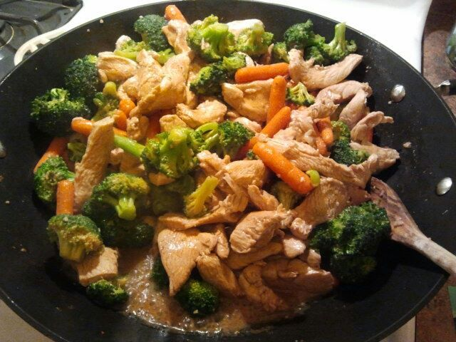 17 Day Diet: Chicken Stir Fry (phase 1)