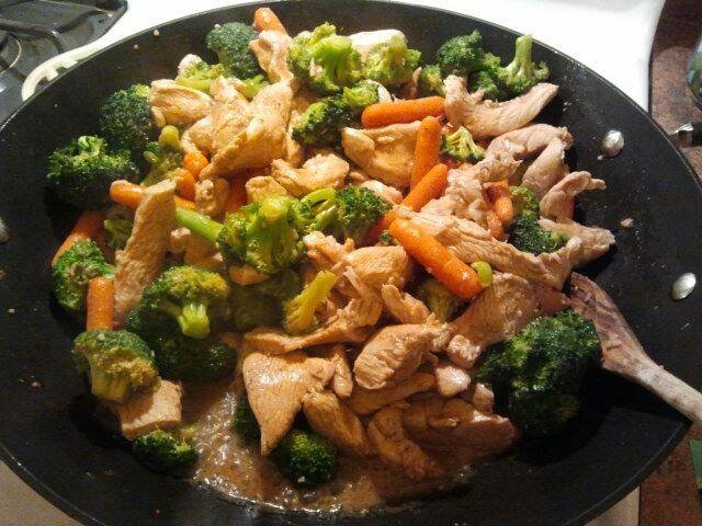 17 Day Diet: Chicken Stir Fry (phase 1)