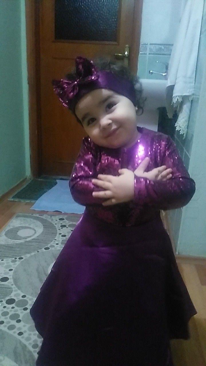 Kızımın doğum günü elbisesi taze bitti