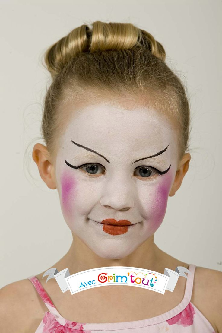 39 best images about id es de maquillage fille on pinterest party events ponies and halloween - Maquillage simple enfant ...