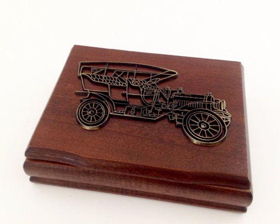 Vintage Playing Card Box Set  Classic Car by VintageModernHip