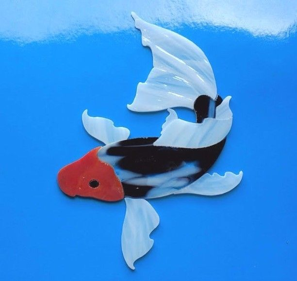 29 best outside work images on pinterest fish pisces for Koi fish pool table