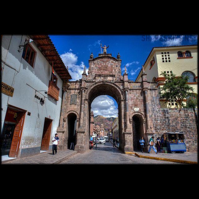世界遺産 クスコの風景 クスコ市街の絶景写真画像  ペルー
