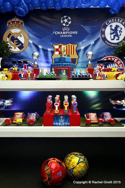 Memories Party: Champions League para Miguel - 6 anos ...