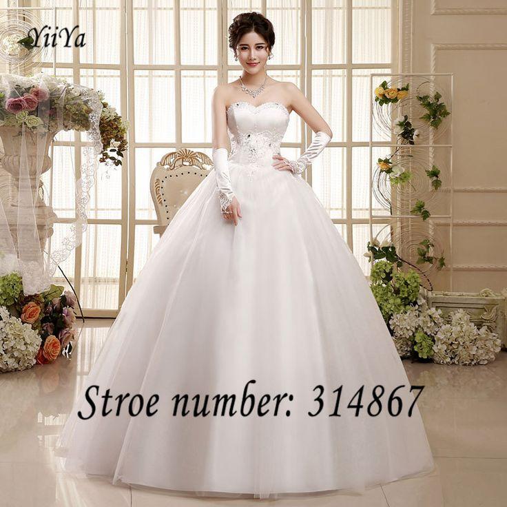 Free Shipping Cheap Wedding Dresses 2016 Sales White Princess Vestidos De Novia Sequins Lace up Wedding Frocks Ball Gowns ZHS050