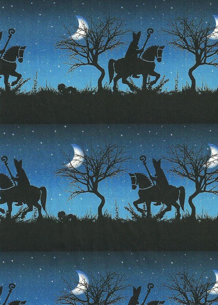 'Dutch Sinterklaas' wrapping paper