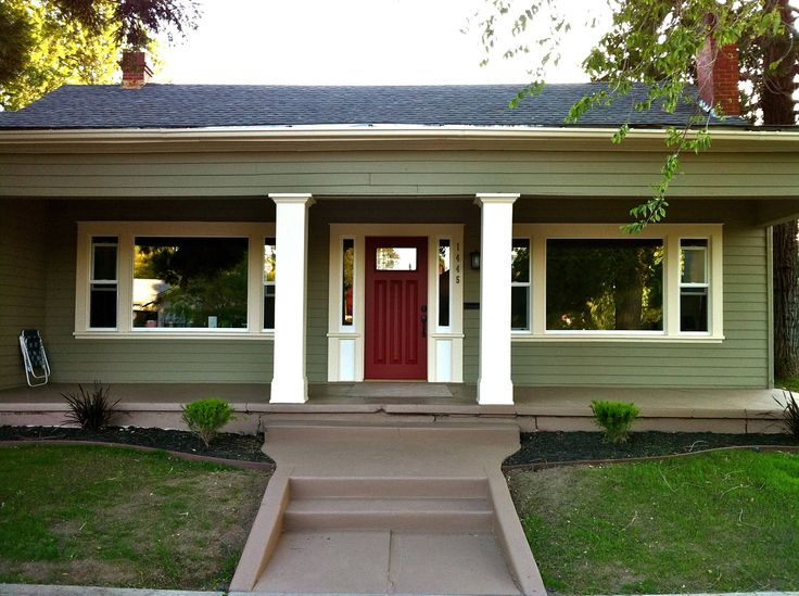 Is there a right color for your home 39 s exterior paint for Californian bungalow front door