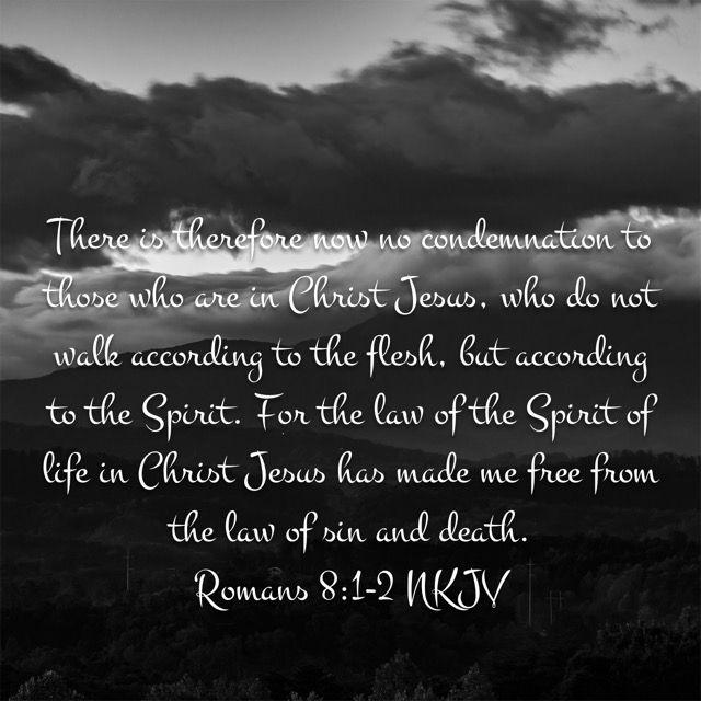 Romans 8:1-2 (New King James Version) | Bible Verses | New king