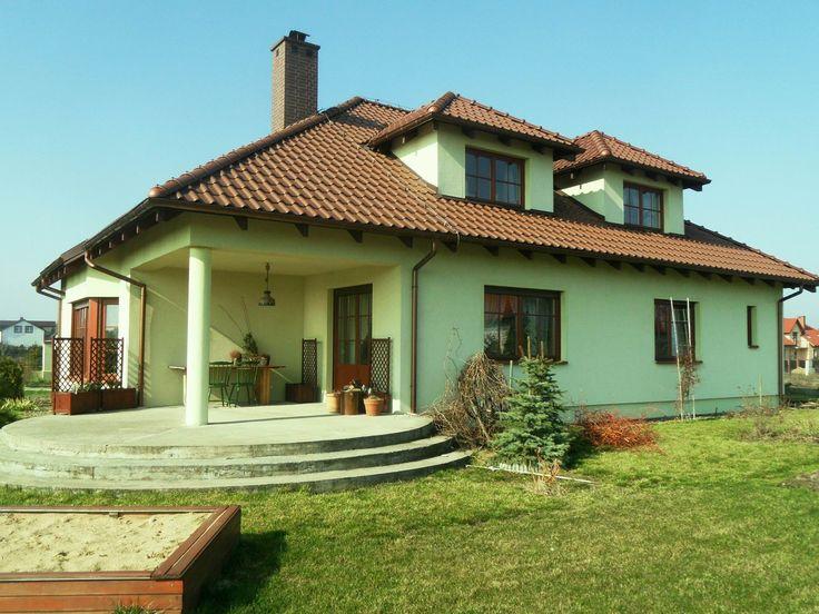 Taras domu Zacisze #dom #ogród #taras