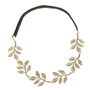 (1 Pc) Sweet Black Fabric hoofdbanden voor vrouwen (Brons, Golden) – EUR € 4.59