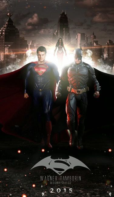 Batman V Superman (2016) BRRip Download In Hindi HEVC Mobile