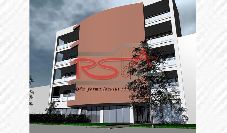 Proiect locuinte colective - mediu urban | RSbA - Birou de arhitectura | http://rsba.ro