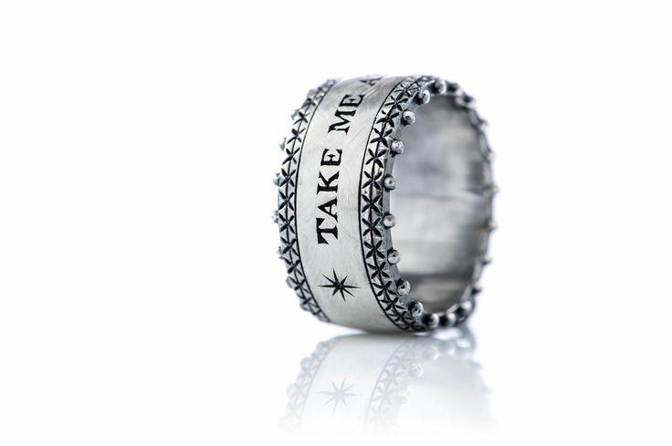TAKE ME AS I AM ring!