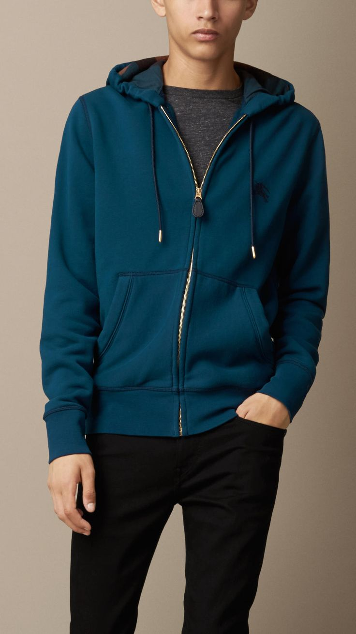 Jersey Hooded Top | Burberry