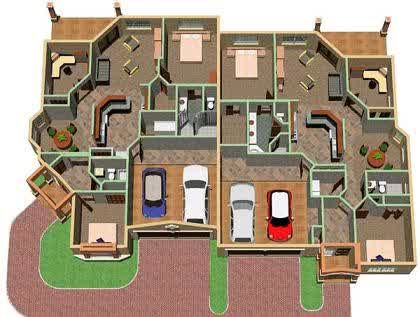 Architecture, The Amazing Design Of Free Floor Plan With Cool Rooms And  Good Rooms Layout