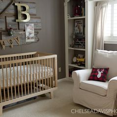 Fawn Over Baby: Vintage Hunting Nursery Designed By Ashley from Southern Farmhouse Designs