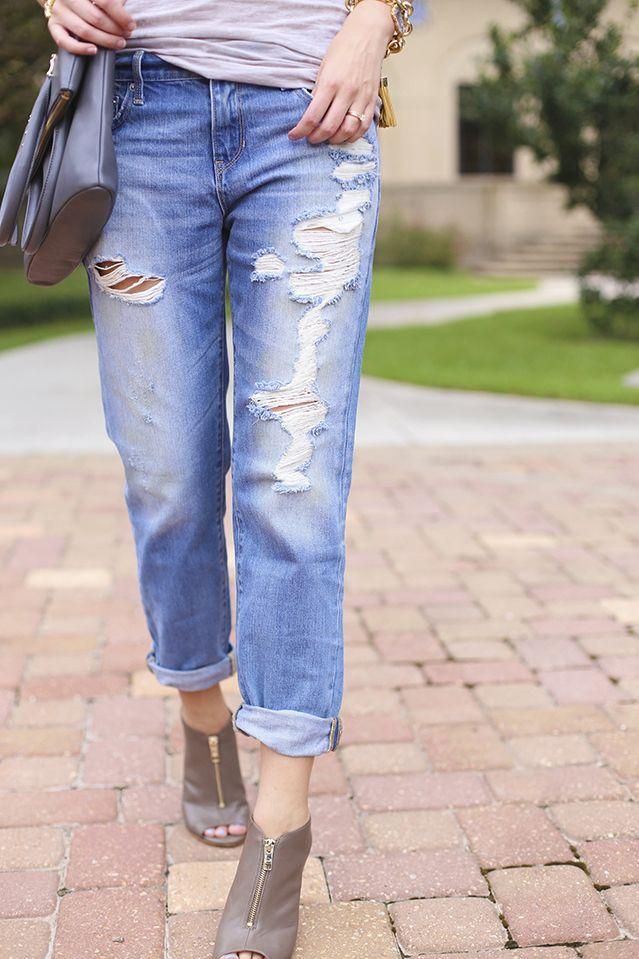 Pre-Fall Basics / Boyfriend Jeans A Pinch of Lovely: Member Board, Boyfriend Jeans, Tbs Member, Fashion Ideas, Style Inspiration, Pre Fall Basics