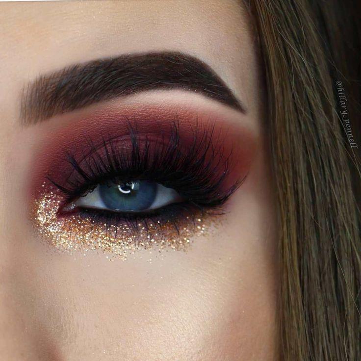 100 Stunning eye makeup ideas – beautiful eye shadow , highlight #eyeshadow #eye