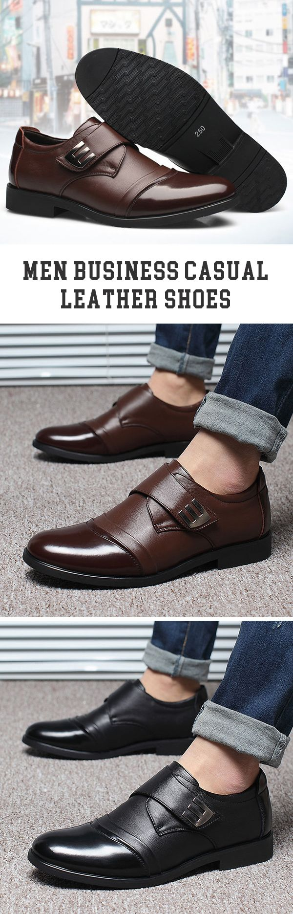 US$32.86#Business Casual Leather Shoes