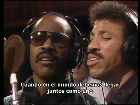 Michael Jackson - We are the world (Subtitulado español)