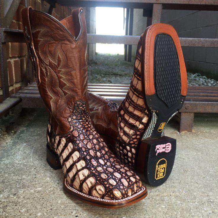 Dan Post Cowboy Certified Women's Camel Everglades Flank Caiman Boots DP3916
