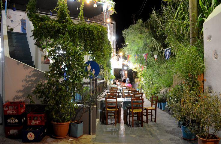 Chiliomodi _ Patmo  Typical fish tavern