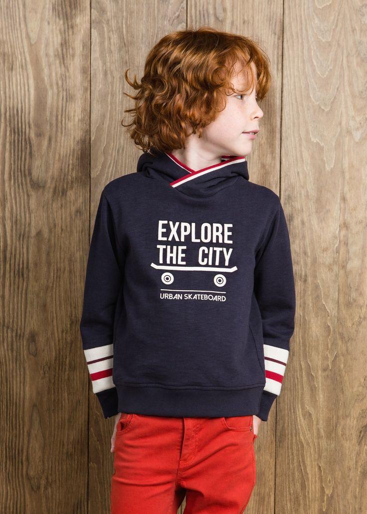 Suéter skateboard - Crianças | MANGO KIDS
