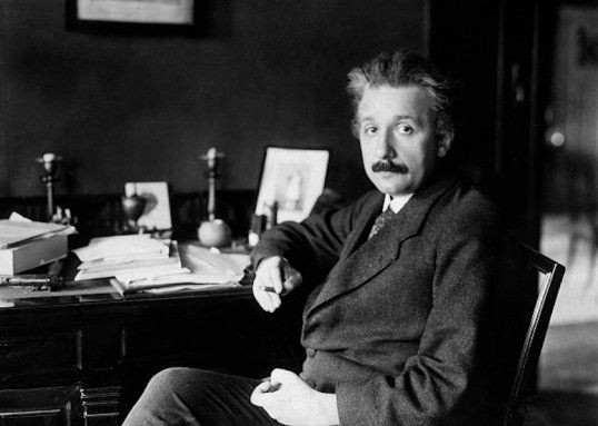 """The amazing life of Albert Einstein, an underestimated genius whose childhood nickname was """"the dopey one."""""""