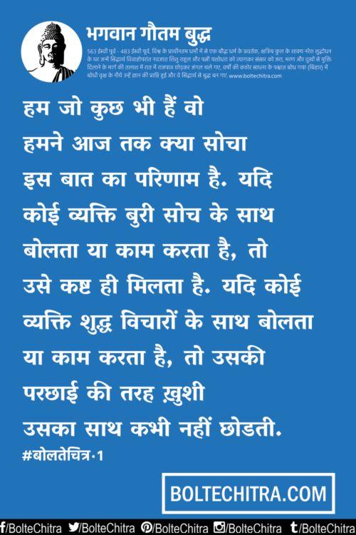 Mahatma Gautam Buddha Quotes in Hindi