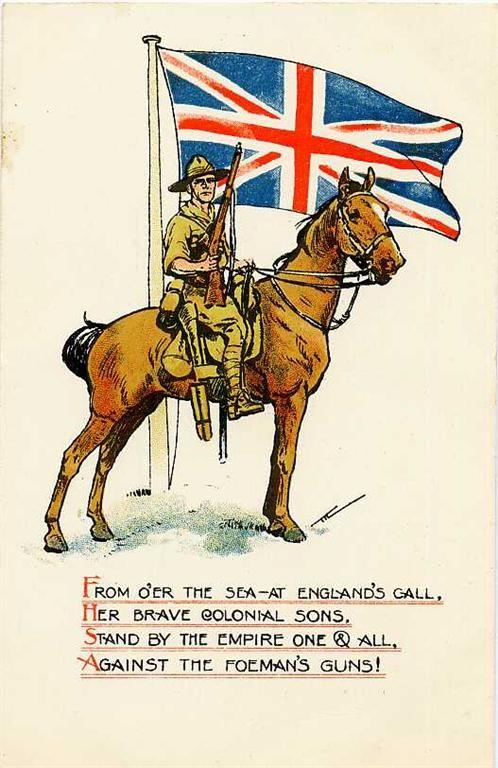 A Brave Colonial Son - Light Horse Trooper http://www.booksonwaraustralia.com