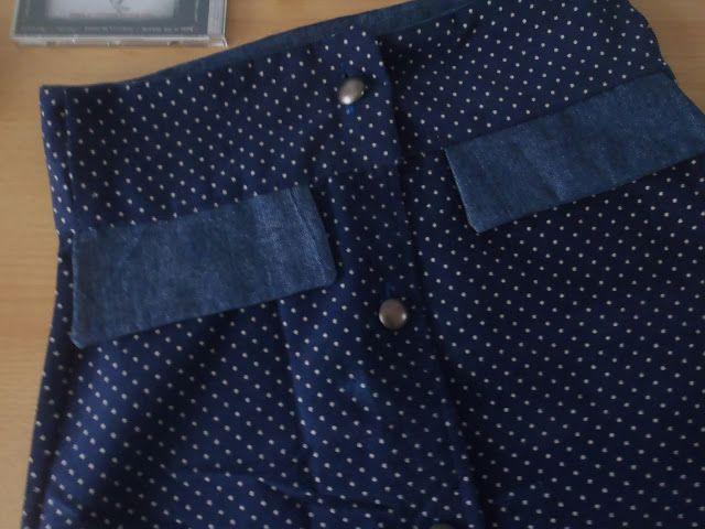Manžestrová sukně/ Corduroy Skirt